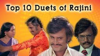 Top 10 Duets of Rajini