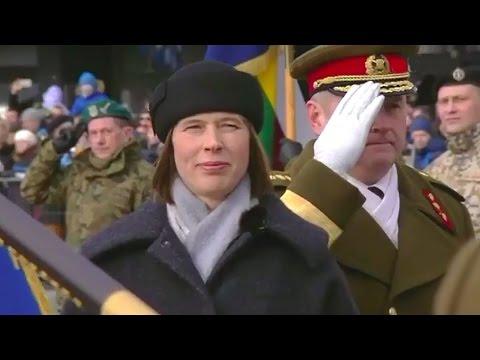 День независимости Эстонии. Военный парад 2017