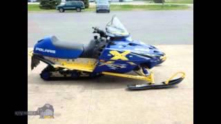 6. Polaris 800 Indy SP 2015 tracked snowmobiles ATVs