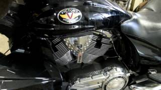 9. 2011 Victory Cross Country Lloyds Big Bore 116 engine & used motorcycle parts for sale