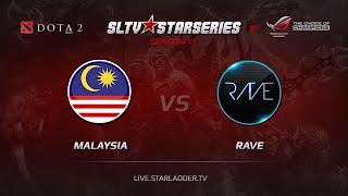 Rave vs Malaysia, game 1
