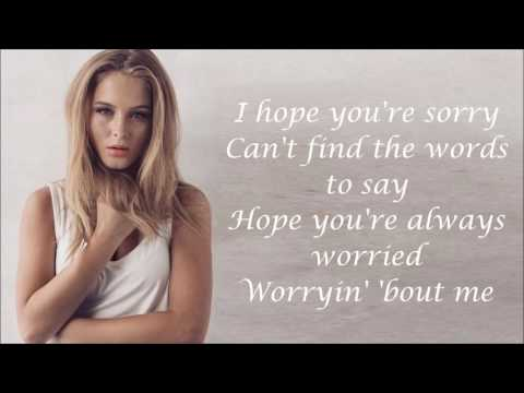 Zara Larsson ~ I Can't Fall In Love Without You ~ Lyrics