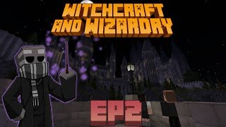 LLEGANDO A HOGWARTS en MINECRAFT, Witchcraft and Wizardry Ep2