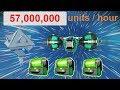 No Man's Sky 137 - still 57,000,000  units/hour trading crashed Dynamic Resonators