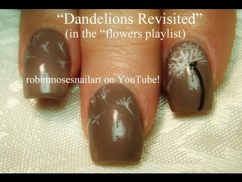 Dandelion Nail Art - Revisited