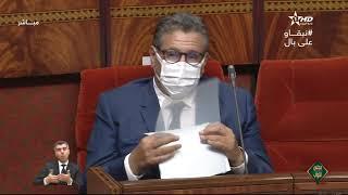 جلسات البرلمان من مجلس النواب 25/01/2021