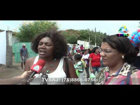 Rosângela e Gislene, UFRB, falam do Programa Universidade para Todos em Sapeaçu, 2604.13