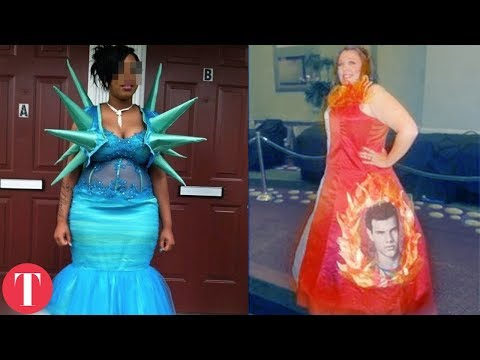 10 Really Bad Prom Dresses