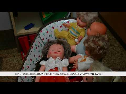 TV Brno 1: 29.11.2017 Jak se bydlelo v období normalizace ukazuje výstava Paneland