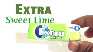 Snakinworld trying the Extra gum sweet lime flavour by the branch Wrigleys It has a lime flavour and it tastes really good Check out the snackin world blog f...