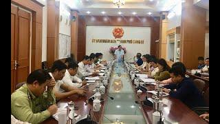Họp các tiểu ban phục vụ Lễ công bố Quyết định công nhận Uông Bí hoàn thành Chương trình xây dựng Nông thôn mới