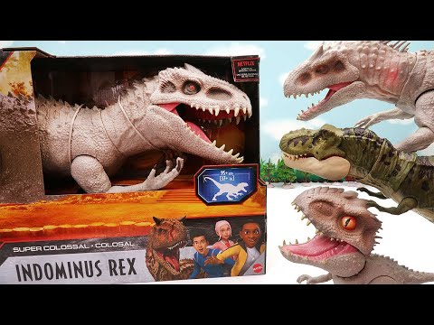 Dinosaur New Series! Giant Size INDOMINUS REX Appear. Jurassic World Camp Cretaceous