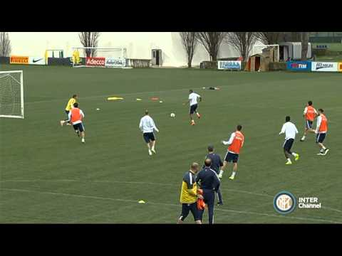 ALLENAMENTO INTER REAL AUDIO 30 03 15