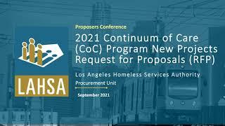 2021年CoC计划新项目RFP提议者会议网络研讨会记录