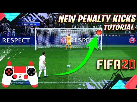 FIFA 20 NEW PENALTY KICKS TUTORIAL - EASY TRICK TO SCORE WITH THE NEW PENALTY KICKS SYSTEM
