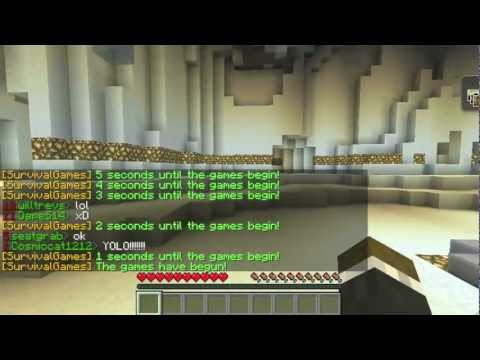 Minecraft Hunger Games w/Jerome and Mitch! Game #8 - I HAVE SOUP!