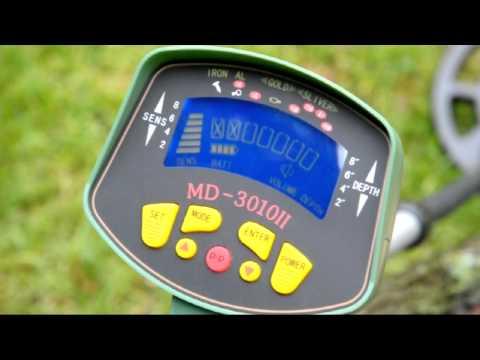 MD 3010 II MK2  Metalldetektor www.nuggets.at Metal Detector