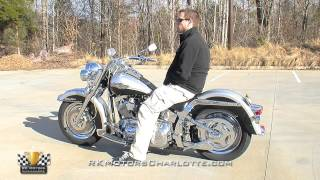 134476 / 2003 Harley Davidson FLSTCI Heritage Softail Classic Cruiser