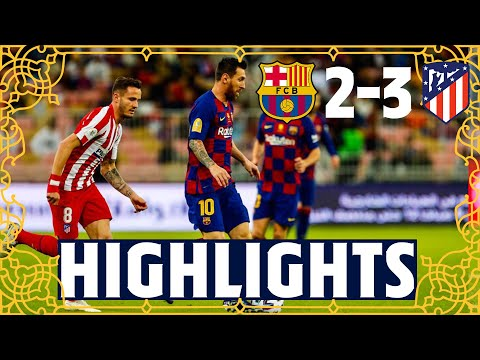 HIGHLIGHTS   Barça 2-3 Atlético Madrid