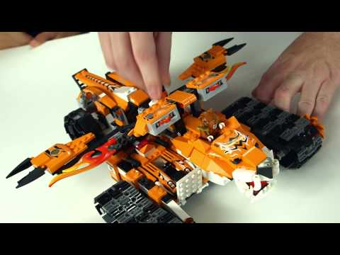 LEGO® Designer Video Zu  70224 Mobile Kommandozentrale Der Tiger