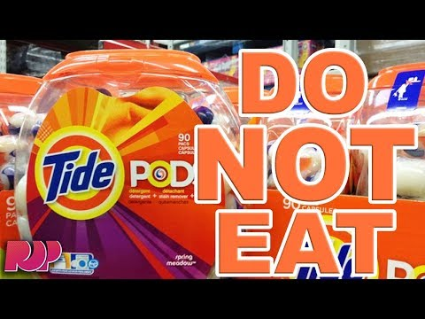 TIDE POD CHALLENGE - Teens Eating Tide Pods