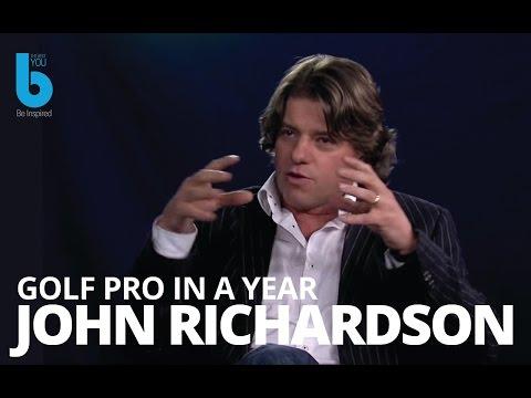 Bernardo Moya interviews John Richardson how can you become golf pro in less than a year?
