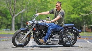 9. Yamaha V Star review. The affordable custom-cruiser