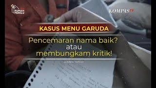Video Kasus Daftar Menu Garuda, Pencemaran Nama Baik atau Membungkam Kritik? – Sapa Indonesia Malam MP3, 3GP, MP4, WEBM, AVI, FLV Juli 2019