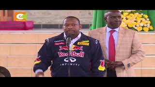 President Kenyatta applauds Odinga for failing petition Kenyatta: We're glad NASA chose to file the petition Kenyatta calls on...