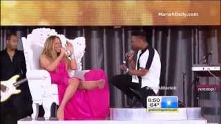 Mariah Carey And Miguel - Beautiful (Live On Good Morning America)