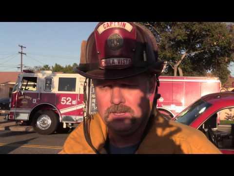 Chula Vista: Fire Destroys House 11022016