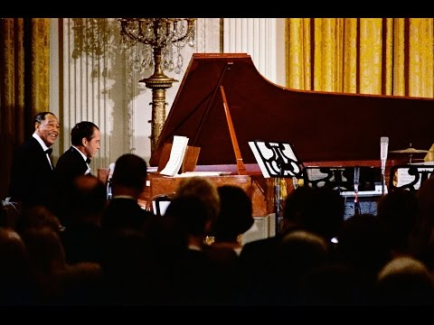 Duke Ellington's 70th birthday celebrations hosted by President Richard Nixon.