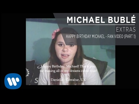Happy Birthday Michael - Fan Video (Part 1) [Extra]