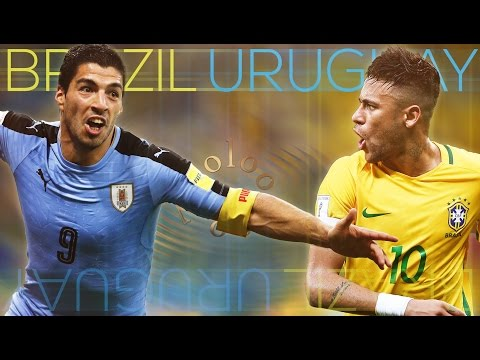 Brazil Vs Uruguay ● World Cup 2018 Qualifier ᴴᴰ