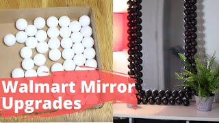 Fake a High-end Mirror With a Cheap One From Walmart | Hometalk