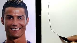 Nonton Hebat  Lansung Spidol Menggambar Ronaldo  Dengan Cepat Dan Mudah   How To Draw Ronaldo Easy Film Subtitle Indonesia Streaming Movie Download