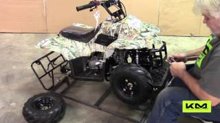 3. Tao Tao 110cc B1 Boulder Kids ATV Assembly