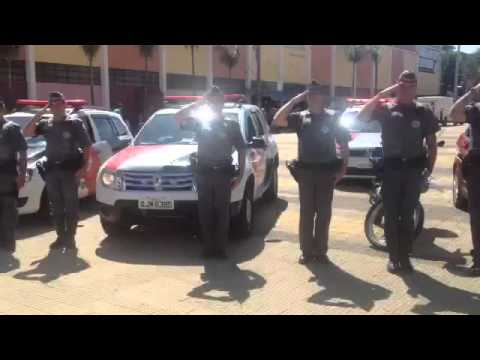 Polícia Militar homenageia combatentes mortos por bandidos