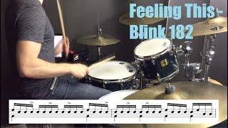 Feeling This Drum Tutorial - Blink 182