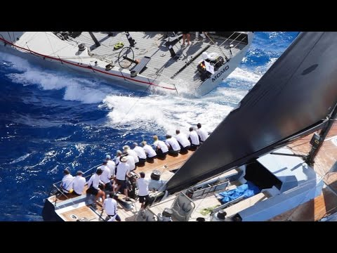 Video: This was the 2016 RORC Caribbean 600 Race