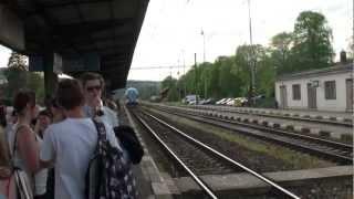 Karlstejn Czech Republic  City pictures : 2012 Euro Travel #09 - Czech Republic #03 - Train ride from Karlštejn to Prague