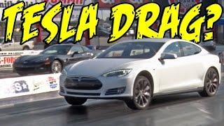 Tesla P85D Drag Strip DOMINATION! by 1320Video