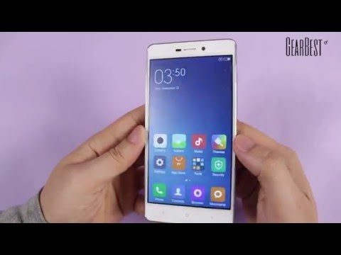 Xiaomi Redmi 3 Smartphone unboxing video