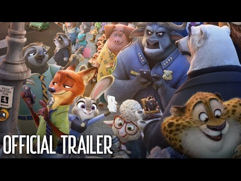 Watch New Disney  s Zootopia Trailer