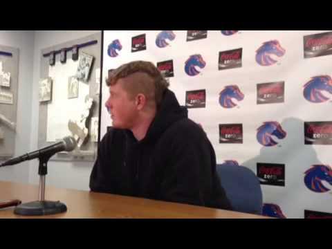Matt Paradis Interview 11/11/2013 video.