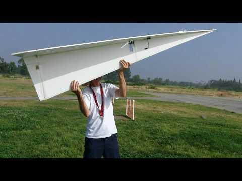 超大型紙飛機,挑戰不可能的飛行!
