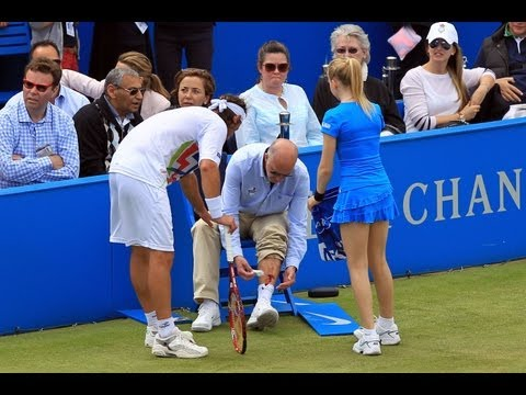 Nalbandian Kicks Line Judge, Draws Blood – Tennis Now News Update Show