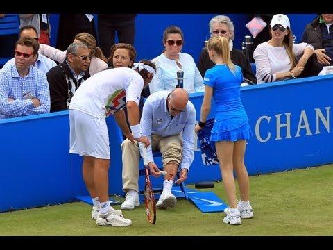 Nalbandian Kicks Line Judge, Draws Blood – Tennis Now News Update Show