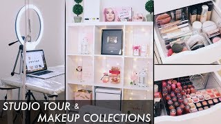 Video My STUDIO TOUR (Camera, Lighting, Set Up) & Makeup Collections 2018 | Indo MP3, 3GP, MP4, WEBM, AVI, FLV Desember 2018