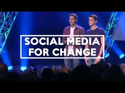 using - We did a talk about using social media for change to an audience... live... on stage... in London! Useful Links: The full Vinspired talk (@18.22) - http://yo...